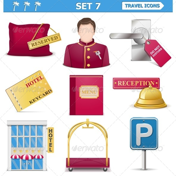 GraphicRiver Vector Travel Icons Set 7 7236081