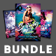 Summer Party Flyer Bundle Vol.02 - GraphicRiver Item for Sale