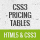 Free Download Pure CSS3 pricing tables