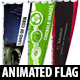 Animated Flag - 3DOcean Item for Sale