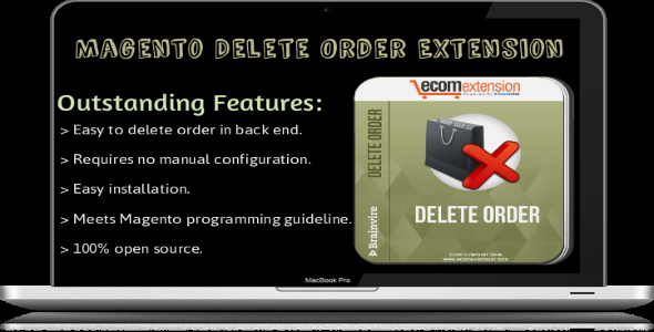CodeCanyon Magento Delete Order Extension 7111205