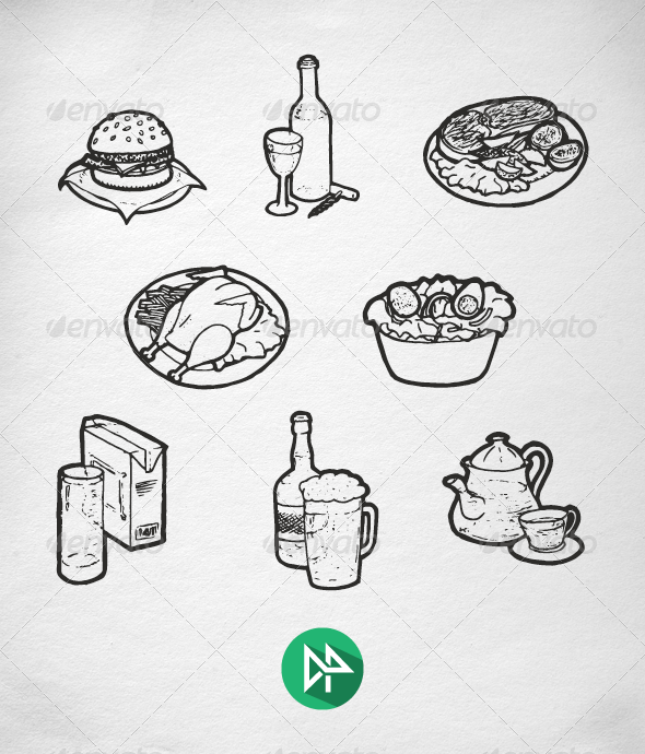 GraphicRiver Food Collection 7223146