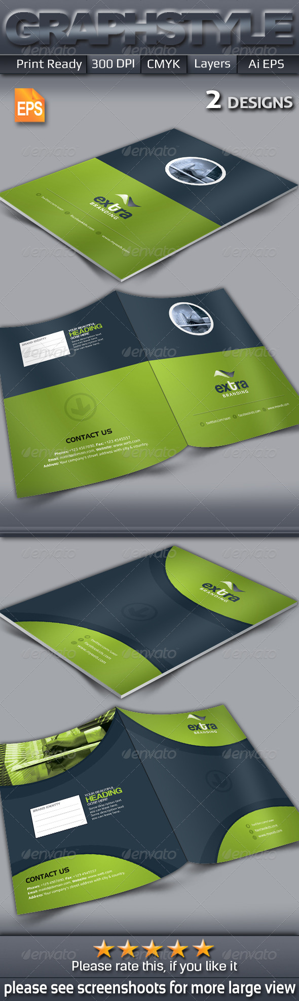 GraphicRiver Extra Presentation Folder 7237273