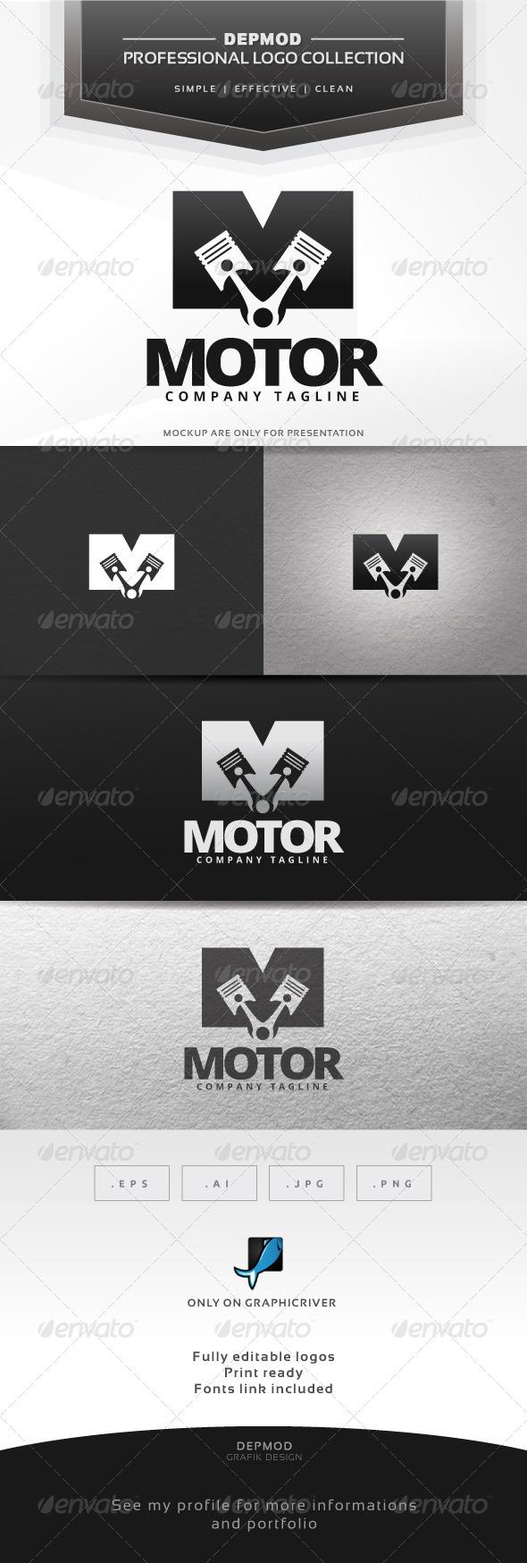 GraphicRiver Motor Logo 7237414