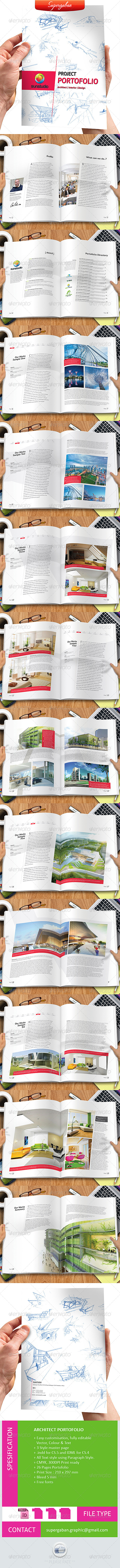 GraphicRiver Architect Portfolio 7238540