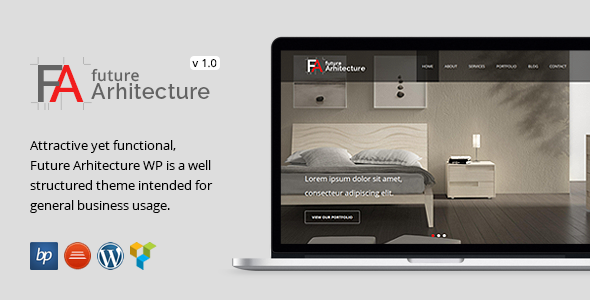 ThemeForest Future Architecture Responsive WordPress Theme 7238846