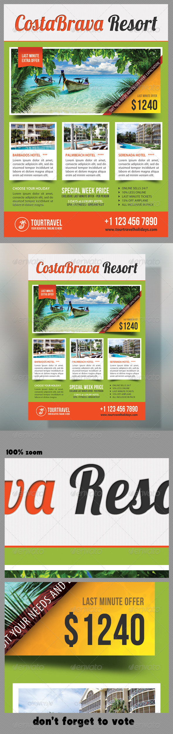 GraphicRiver Travel Agency Corporate Flyer 07 7239815