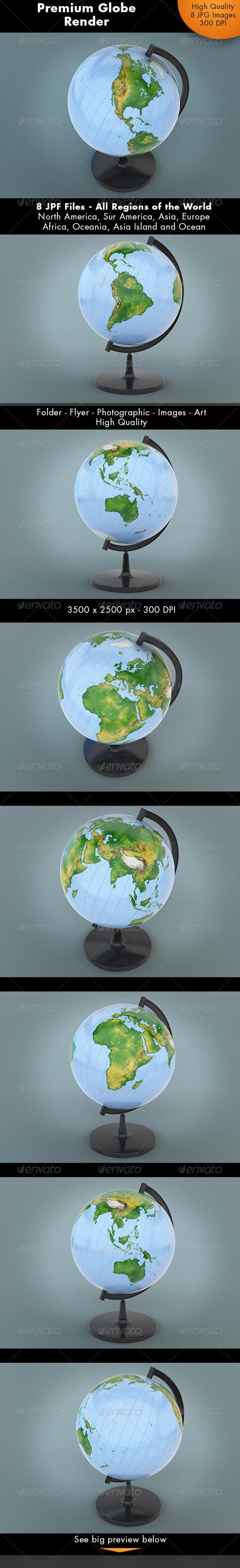 GraphicRiver Realistic Globe World 7239935