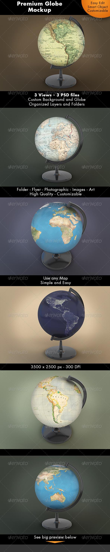 GraphicRiver Globe Mockup 7239981