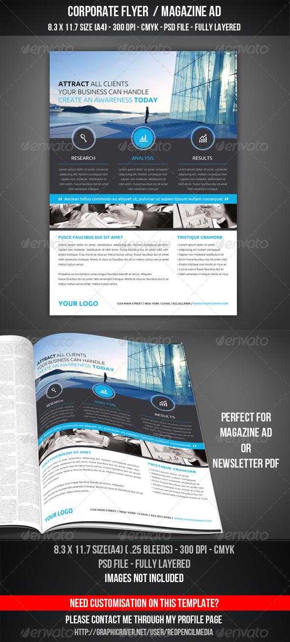 GraphicRiver Corporate Flyer Magazine AD 7240195