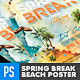 Spring Break Beach Party Vol.2 Poster/Flyer - GraphicRiver Item for Sale