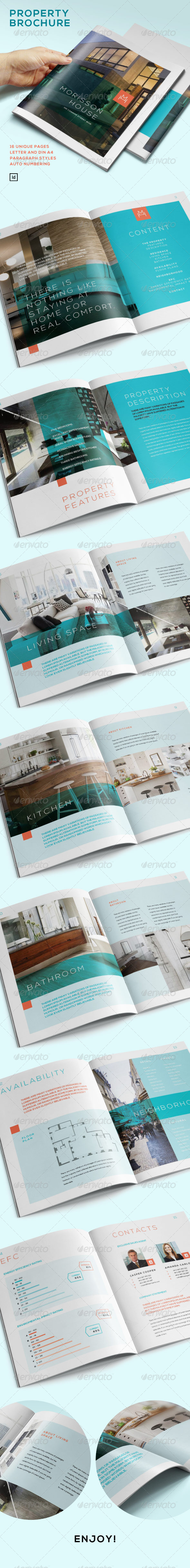 GraphicRiver Property Brochure 7223118
