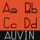 Auvin Font - GraphicRiver Item for Sale