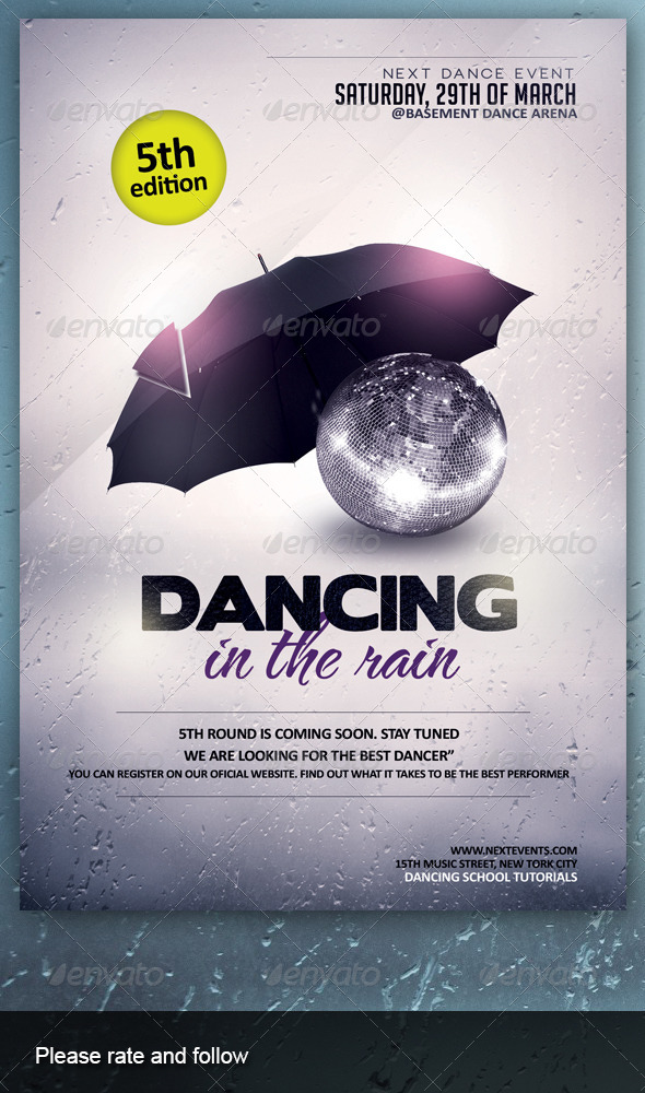 GraphicRiver Dancing in the Rain 7219309
