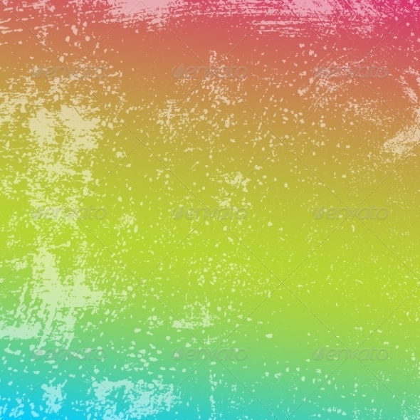 GraphicRiver Rainbow Grunge Texture 7241132
