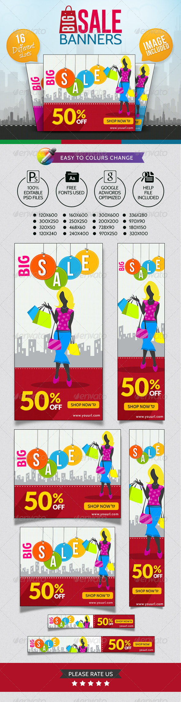 GraphicRiver Big Sale Banners 7241171