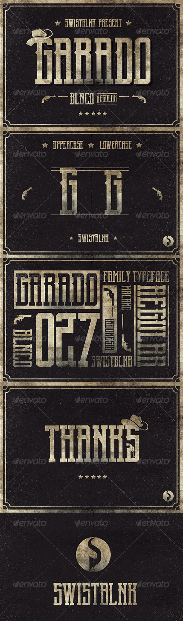 GraphicRiver Garado Blnco Regular 7241389