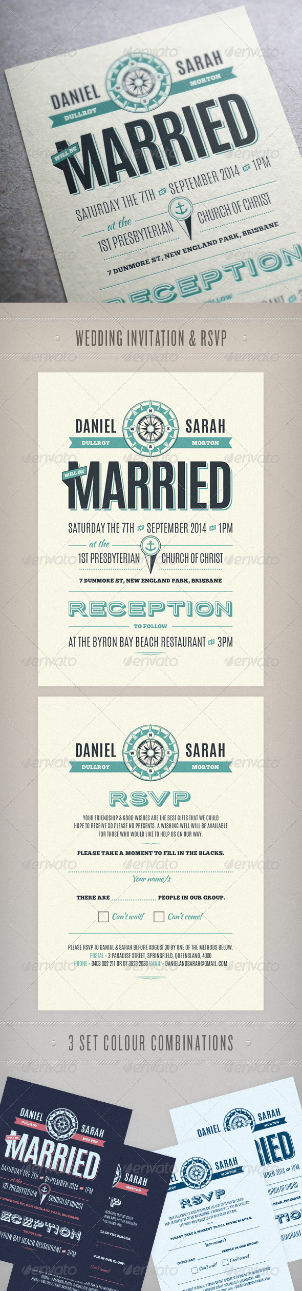 GraphicRiver Wedding Invite 7241902