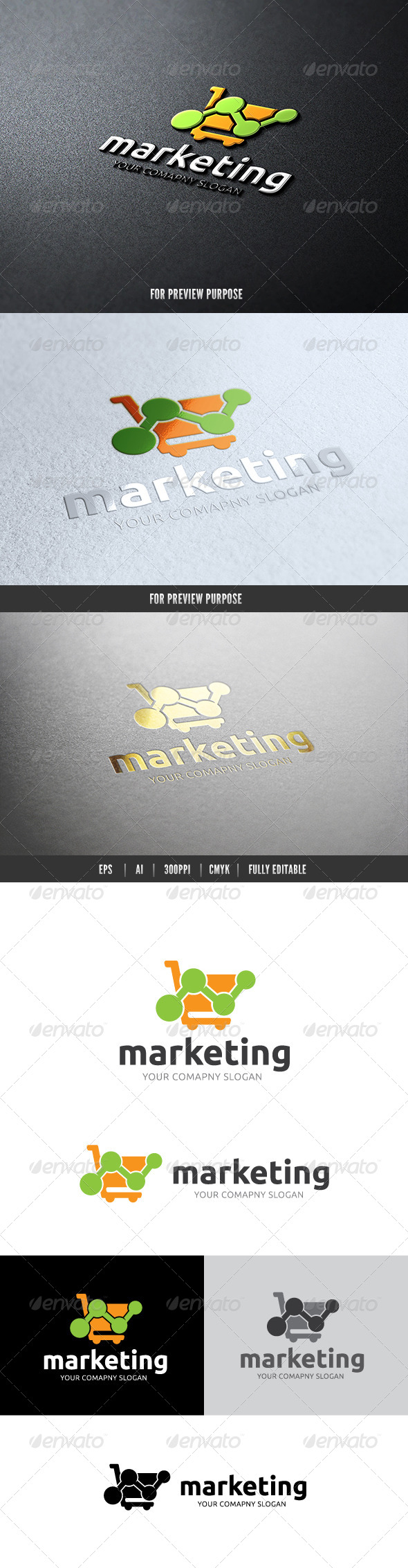 GraphicRiver Marketing Cloud II 7242016
