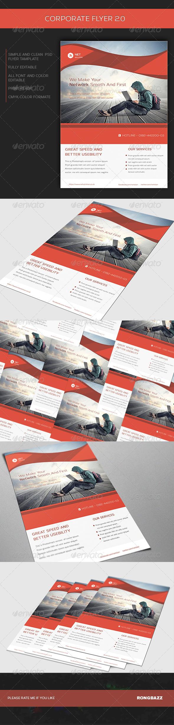 GraphicRiver Corporate Flyer 2.0 7194587