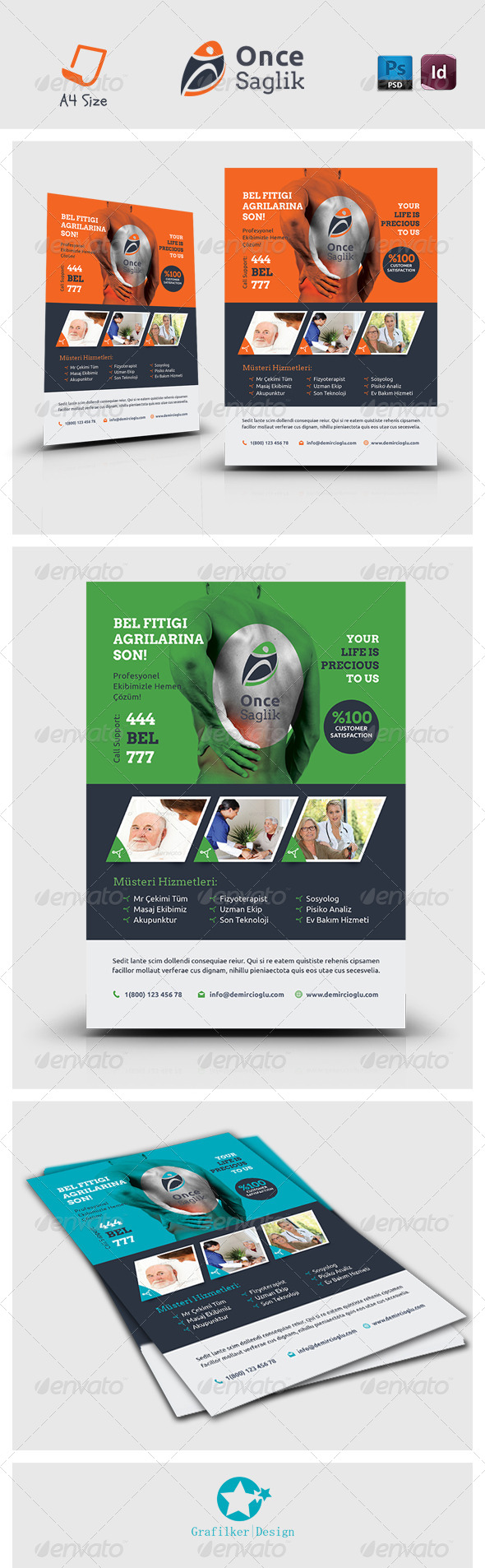 GraphicRiver Health Flyer Templates 7242039