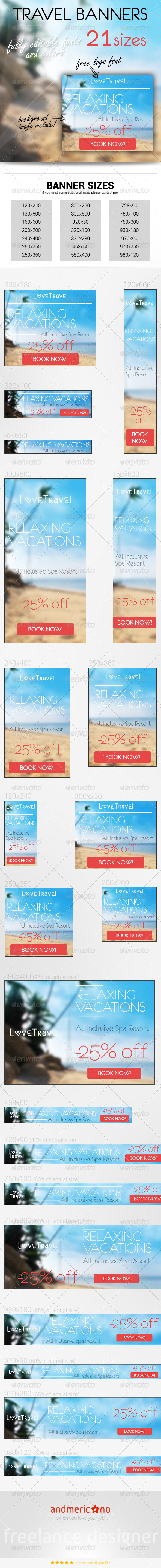 GraphicRiver Travel & Holidays 2 7243313