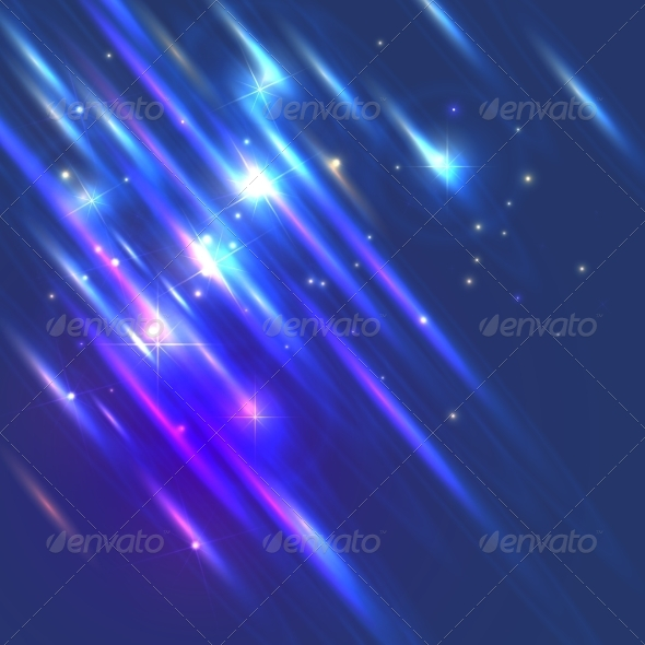 GraphicRiver Abstract glowing shiny background with lights 7243467