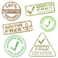 Additive Free Stamps - PhotoDune Item for Sale