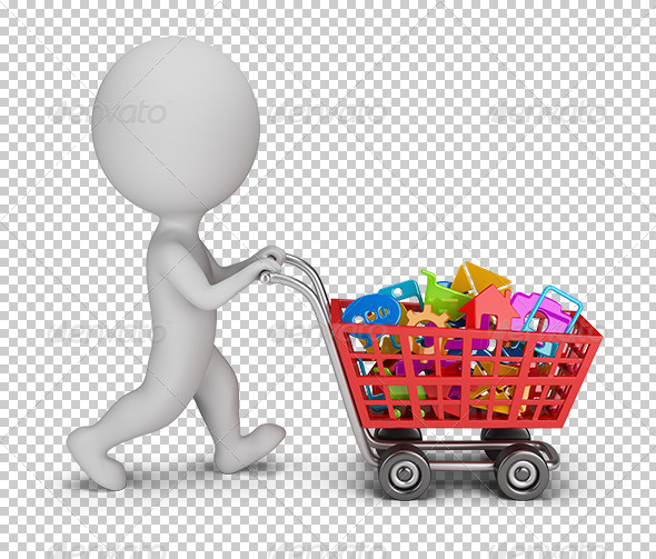 GraphicRiver 3D Small People Purchased Applications 7244245