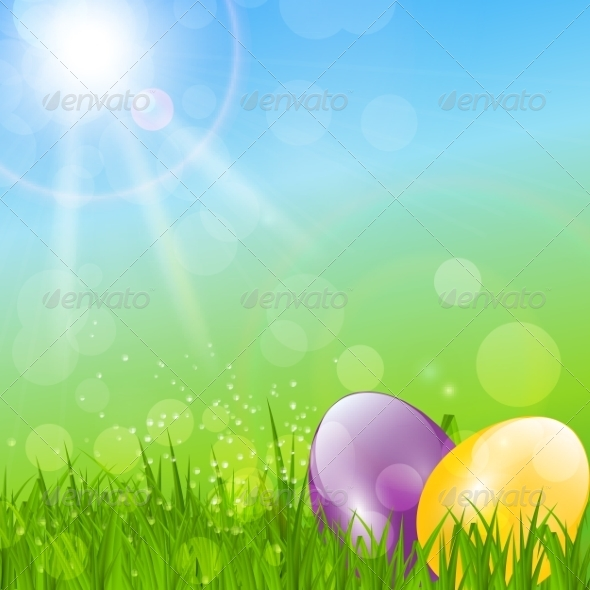 GraphicRiver Easter Background 7244302