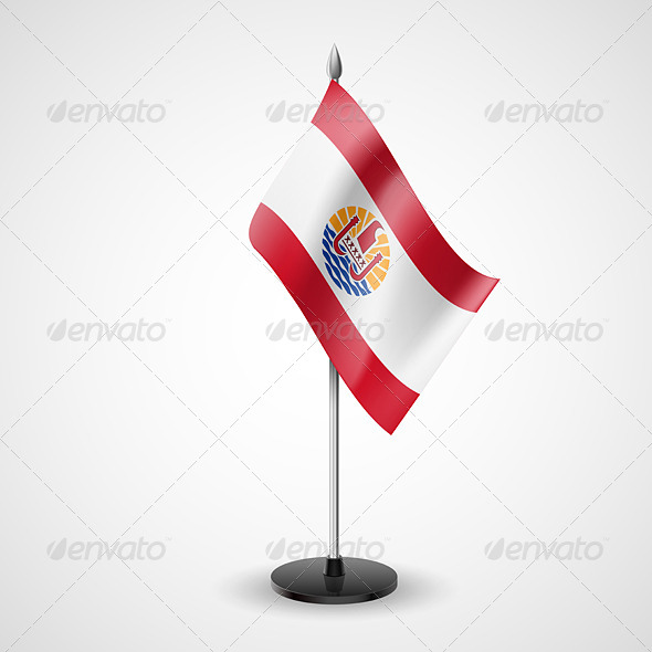 GraphicRiver Table Flag of French Polynesia 7244596