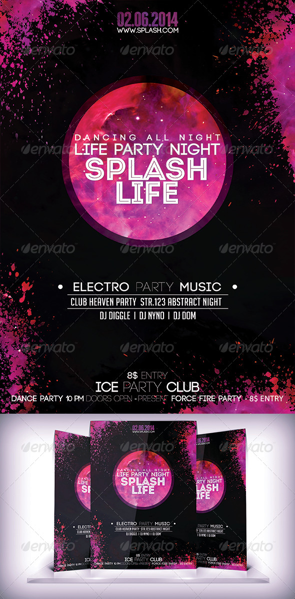 GraphicRiver Splash Life PartyFyer 7244677
