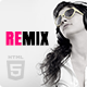 Remix - Music and Band HTML5 Template - ThemeForest Item for Sale