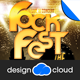 The Rock Fest Concert Poster Flyer Template - GraphicRiver Item for Sale