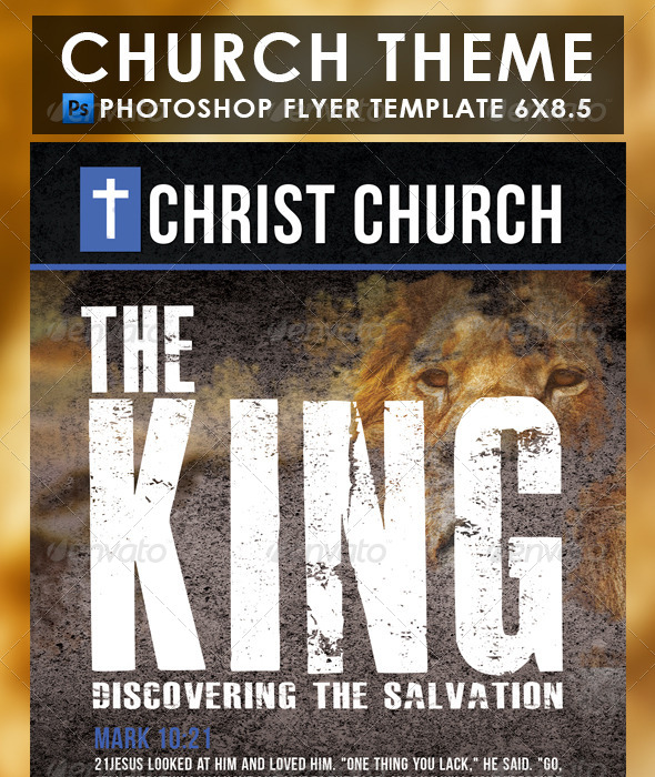 GraphicRiver The King Christian Theme 7245035