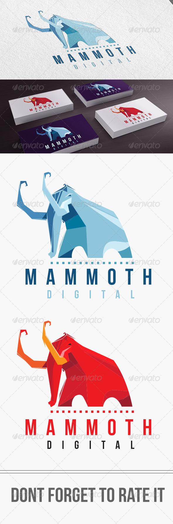 GraphicRiver Mammoth Digital Logo Templates 7096014