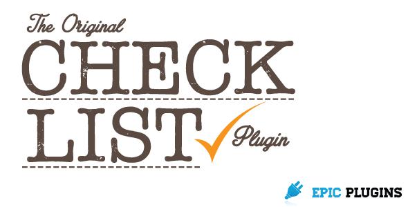 CodeCanyon Checklist WordPress Plugin Check List Builder 7245280