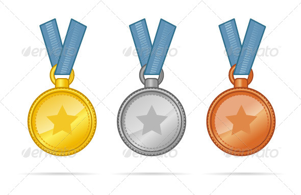 GraphicRiver Medals 7245360