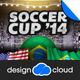 Soccer Cup Brazil 2014 Flyer Template - GraphicRiver Item for Sale