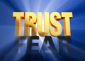 Trust Triumphs Over Fear - PhotoDune Item for Sale