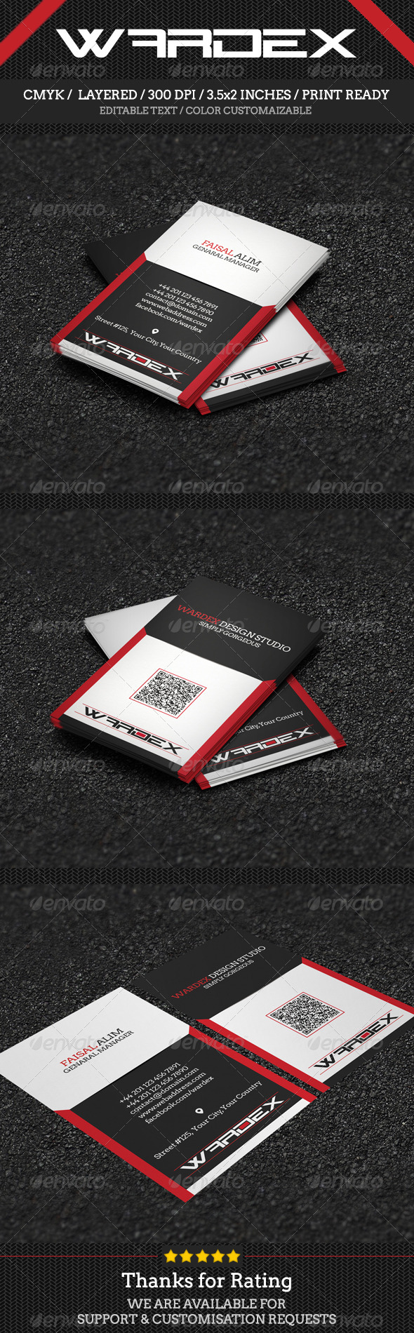 GraphicRiver Corporate & Pro Business Card Design 7246050