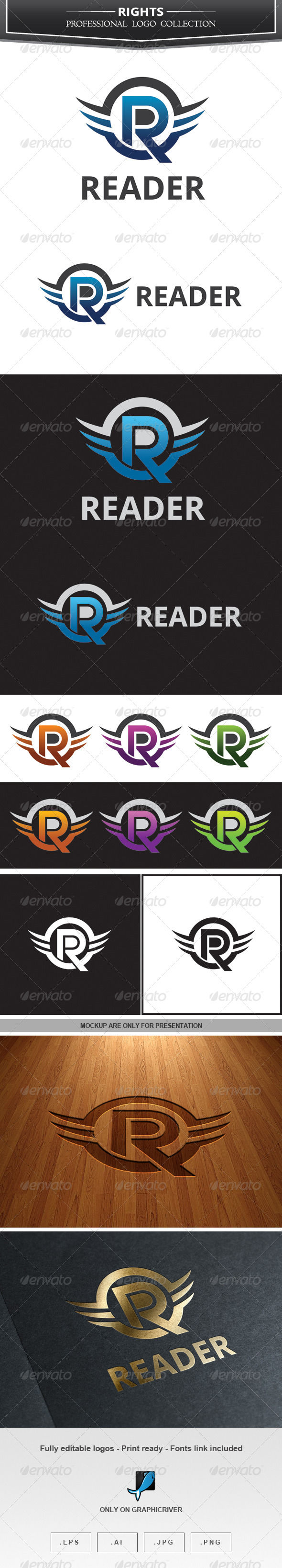 GraphicRiver Reader Logo 7246271