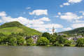 Small town Bullay along river Moselle in Germany - PhotoDune Item for Sale