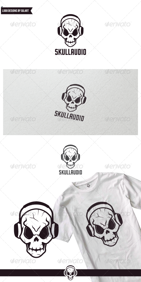 GraphicRiver Audio Skull 7246561