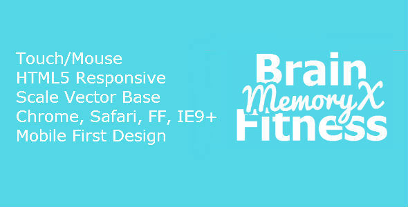 CodeCanyon HTML5 BrainFitness MemoryX 7246582