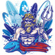 Poseidon Surfer  - GraphicRiver Item for Sale