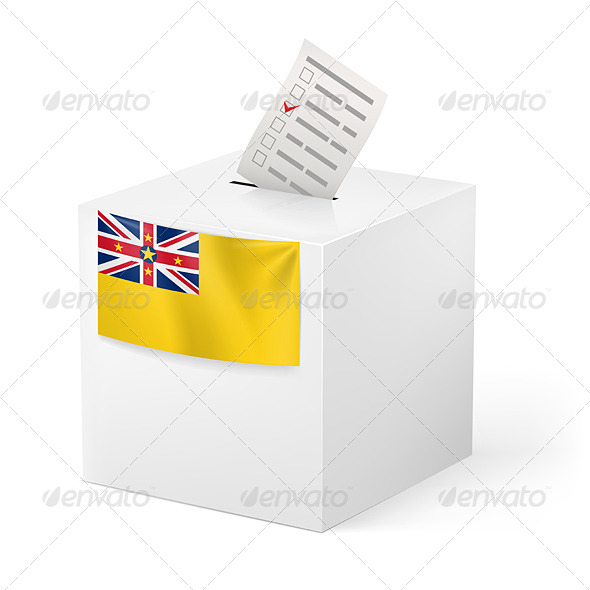 GraphicRiver Ballot Box with Voting Paper 7246982