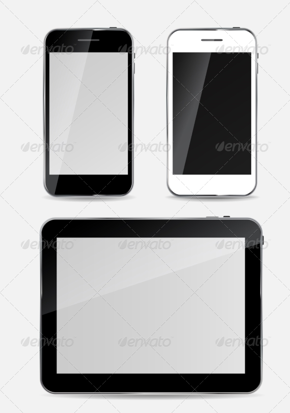 GraphicRiver Abstract Design Mobile Phone and Tablet PC 7247148