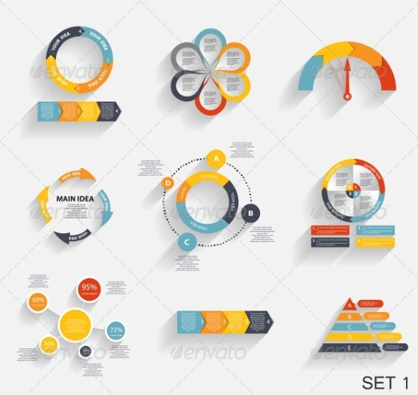 GraphicRiver Collection of Infographic Templates for Business 7247796