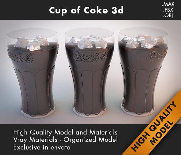 3DOcean Cup Coca Cola 3d 7248179